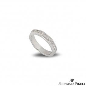 Audemars Piguet White Gold Diamond Royal Oak Ring